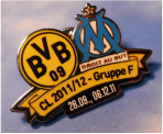 Pin BvB CL Cup 2011 Marseille 1
