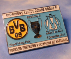 Pin BvB CL Cup 2011 Marseille 2