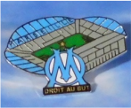 Pin BvB CL Stadion Marseille